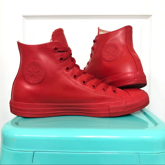 Chuck Taylor All Star Rubber Hi ˋRed´
